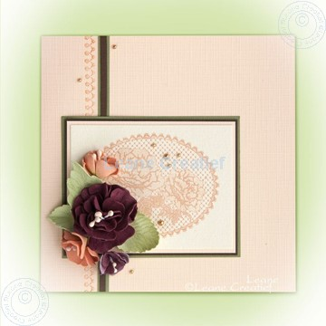 Bild von Foam flowers & lace clearstamps