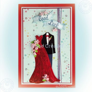 Image de Dress & Suit with small foam flowers