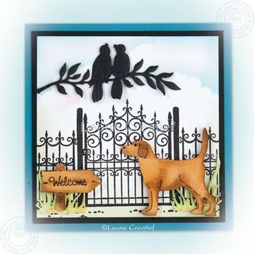 Image de Combi stamp Garden gate