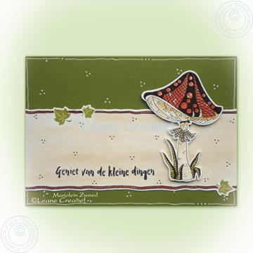 Afbeeldingen van Doodle Mushroom stamp