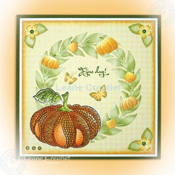 Afbeeldingen van Doodle pumpkin stamp