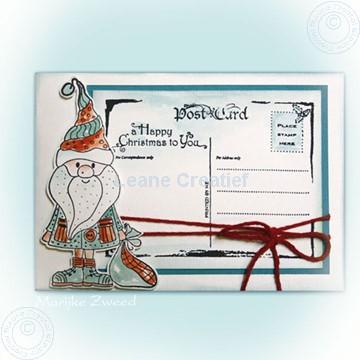 Image de Doodle Santa carte postale