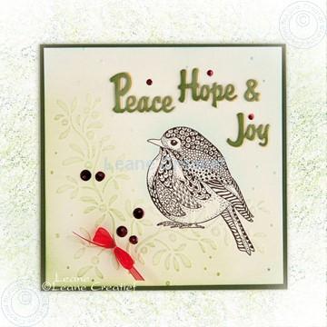 Image de Doodle Bird Peace, Hope & Joy