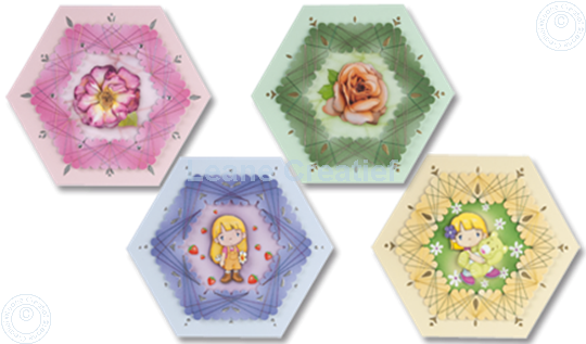 Picture of Spirella® Hexagon cards