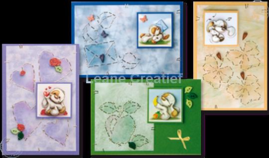 Image sur Mylo & Friends® StickerStitch® Cartes