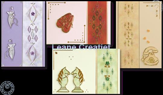 Afbeelding van Borduurkaarten met stickers