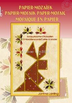 Afbeeldingen van Papier mozaïek borduur kaarten
