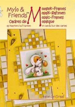 Image de Mylo & Friends® Cadres de mosaïque sur des cartes