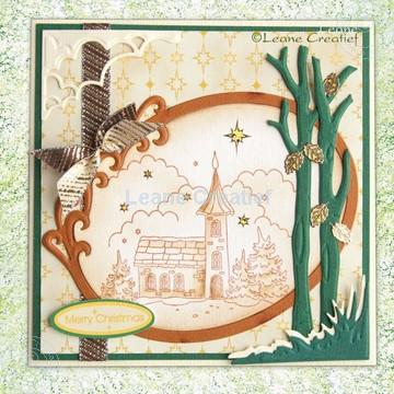 Image de Église en couleur sépia