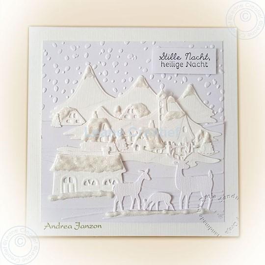 Image sur Landscape in white