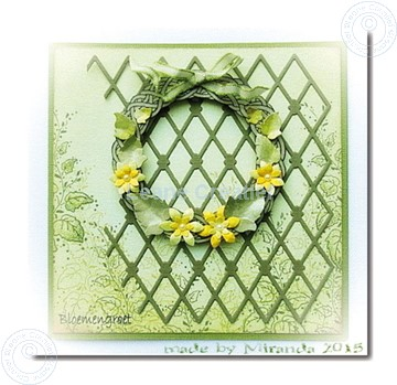 Bild von Wreath with flowers large