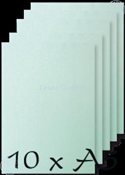 Image de Papier A5 Ice Aqua 200 gr