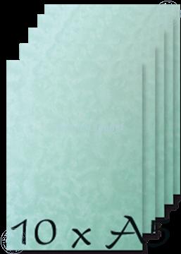 Image de Papier A5 Peacock blue 200 gr