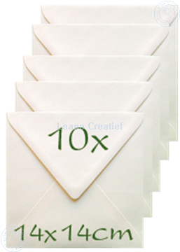 Picture of Envelopes 14x14cm cream