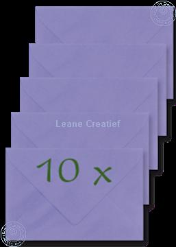 Afbeeldingen van Enveloppen 12.5x18,5cm paars