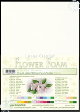 Afbeeldingen van Flower foam A4 sheet off white