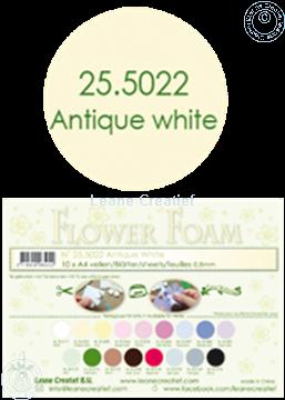 Bild von Flower foam A4 sheet antique white