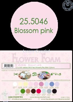 Bild von Flower foam A4 sheet blossom pink