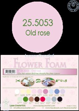 Bild von Flower foam A4 sheet old rose