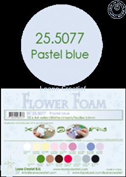 Bild von Flower foam A4 sheet pastel blue