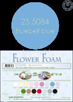 Bild von Flower foam A4 sheet bluebell blue