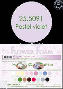 Bild von Flower foam A4 sheet pastel violet