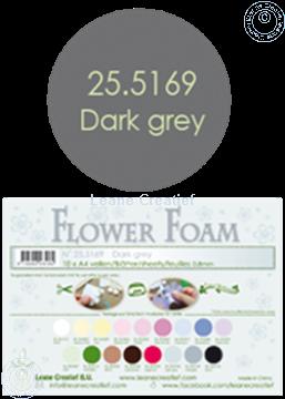 Bild von Flower foam A4 sheet dark grey