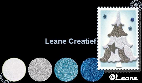 Afbeelding van Glitter Foam set 3 blauw/wit/zilver