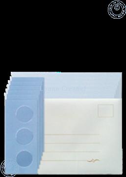 Image de Assortiment des Cartes Tri-O bleu/bleu foncé