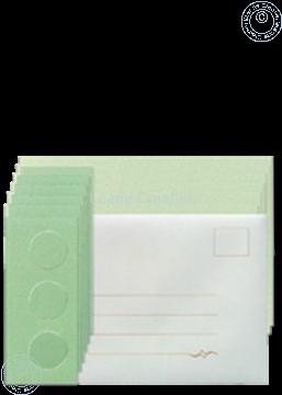 Image de Assortiment des Cartes Tri-O vert/vert foncé