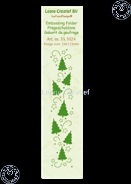 Bild von Border Christmas trees