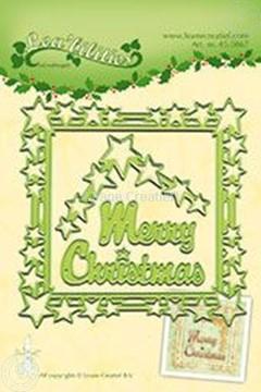 Bild von Star Christmas frame
