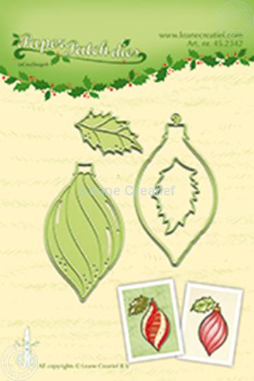 Afbeelding van Paper patch Christmas ornament