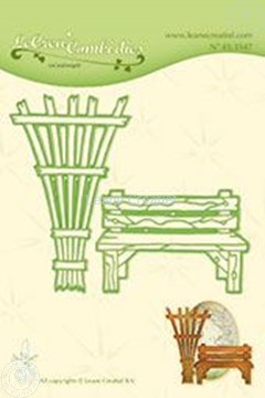 Image de Lea'bilitie Garden benche & trellis