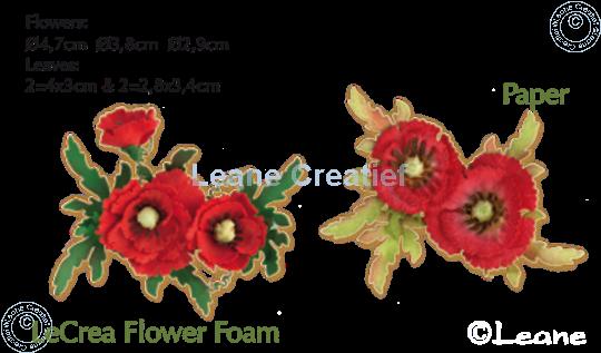 Afbeelding van Lea'bilitie Multi die Flower 013 Poppy