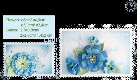 Image sur Lea'bilitie Multi die Flower 014 Fantasy flower