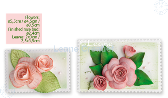 Bild von Lea'bilitie Multi die Flower 016 Rose