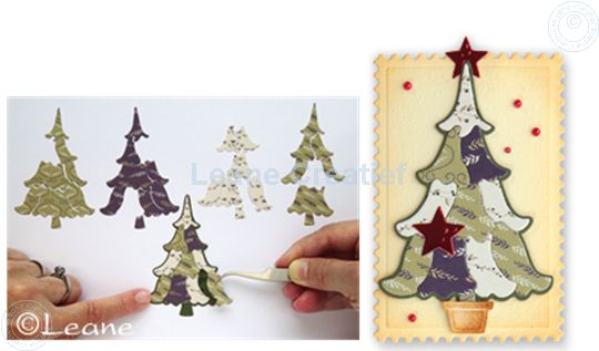 Afbeelding van Lea'bilitie Patch die Christmas tree