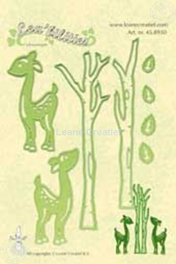 Afbeelding van Lea'bilities deer & trees