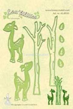 Picture of Lea'bilities deer & trees