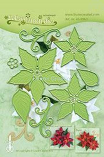 Image sur Multi die flower 004 Ponsettia
