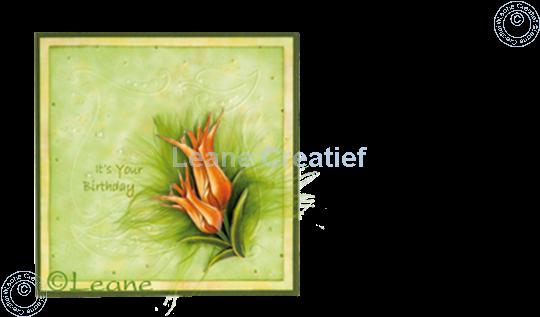 Bild von LeCreaDesign® Ausschneideblätter Tulpen