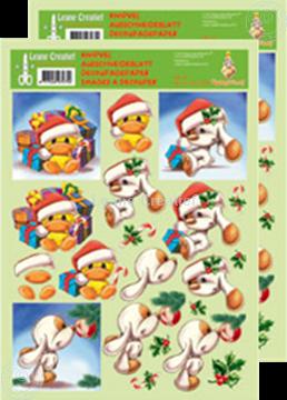 Afbeeldingen van Knipvel Mylo & Friends® Kerst #14