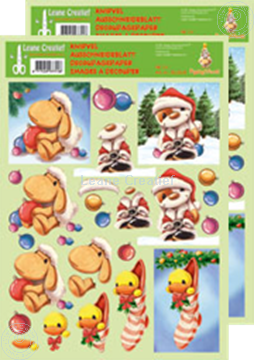 Picture of Decoupagepaper Mylo & Friends® Christmas #19