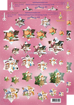 Picture of Decoupagepaper Mylo & Friends® Christmas #MP4
