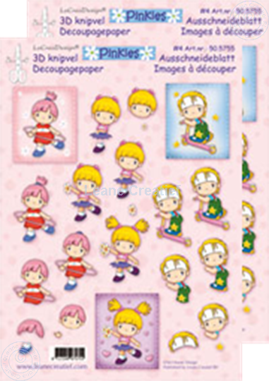 Picture of Decoupagepaper Pinkies #4