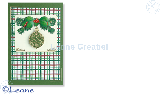 Picture of Christmas decoupagepaper rectangle