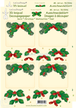 Bild von Weihnachten Ausschneideblatt Rechteck
