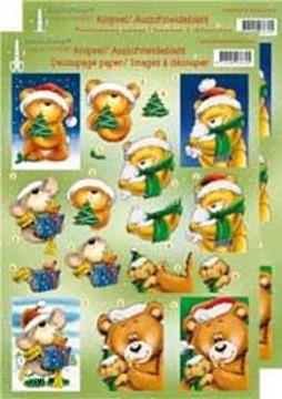 Bild von Weihnachtsbären 3D groß