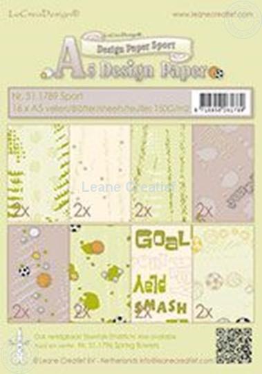 Image sur Design paper Sport
